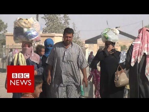'Please take care of the people of Mosul' - BBC News