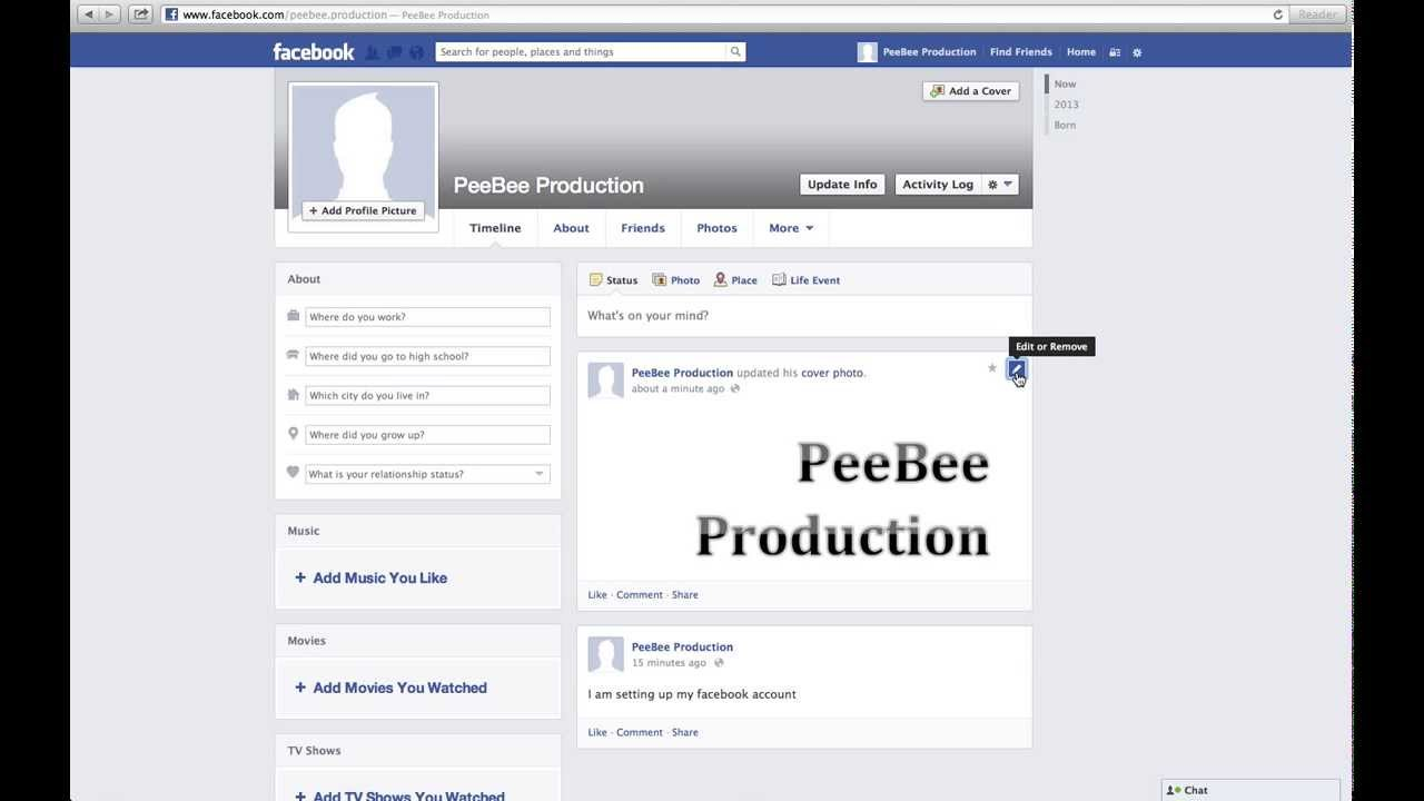 How to add, change, and remove Facebook profile pictures ...