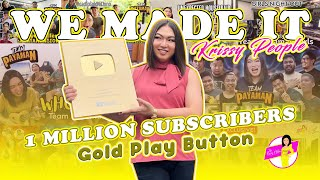 1 Million Subscribers Na Tayo, Krissy People! | BINALITA KO ANG GOOD NEWS SA TEAM PAYAMAN!!!