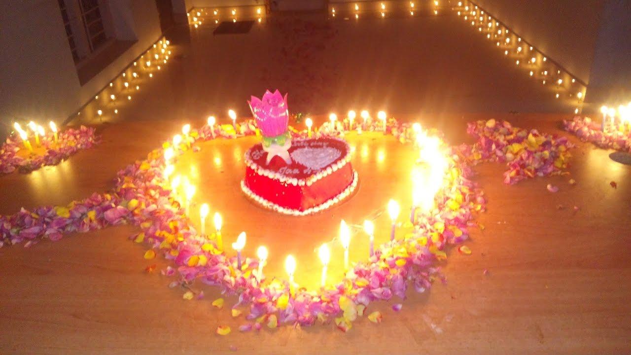 My Friend Surprise Birthday Celebration In My Flat Youtube