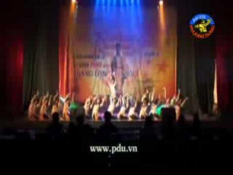 Múa: Hương sắc Kinh đô - CLb Nghệ thuật Trường ĐH Phương Đông