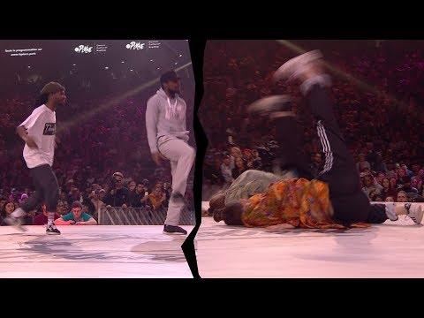 P Dog & Franky D VS Kamilla Lil K & Jade - Juste Debout 2017