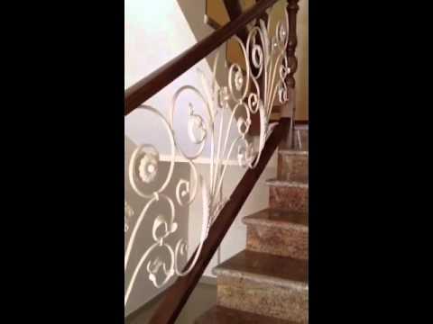 Baranda de forja y madera youtube - Pasamanos de madera modernos ...