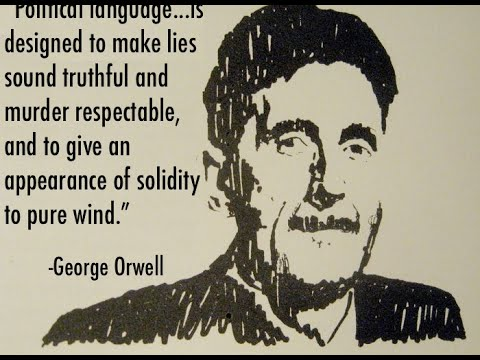 "george orwells politics and the english George orwell's six rules for writing clear and tight prose in politics  his 1946 essay ""politics and the english  open culture's continued operation."