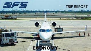 TRIP REPORT   Delta Connection - CRJ 200 - Philadelphia (PHL) to New York (JFK)   Economy