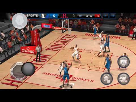 NBA LIVE MOBILE NEW UPDATE!!!!!!! ANDROID VERSION