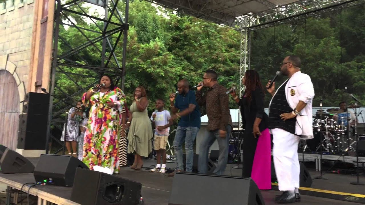 "Download Kathy Taylor ""Oh How Precious"" Six Flags America Praise In The Park"