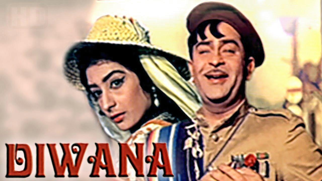 Download Diwana (1967) Full Hindi Movie   Raj Kapoor, Saira Banu, Lalita Pawar