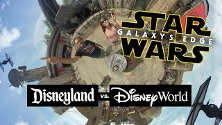 Galaxy's Edge Differences: Disney World vs. Disneyland