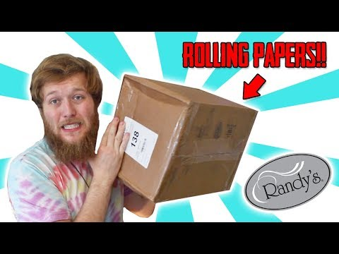 GIANT BOX OF ROLLING PAPERS!!
