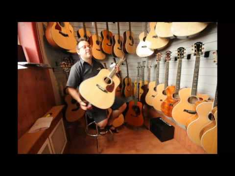 Martin D-16RGT Acoustic Guitar Demo