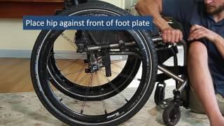 Floor Transfers:  SCI Empowerment Project Wheelchair Skills Video 21