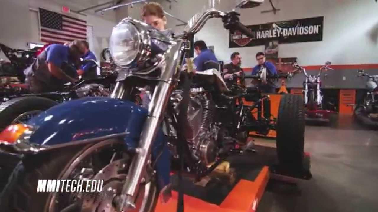 Motorcycle Mechanics Institute Harley Davidson Youtube
