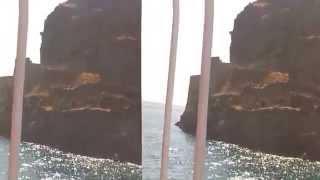 проплываем около бастиона крепости острова Спиналонга (Крит Греция)(, 2014-09-01T03:08:39.000Z)