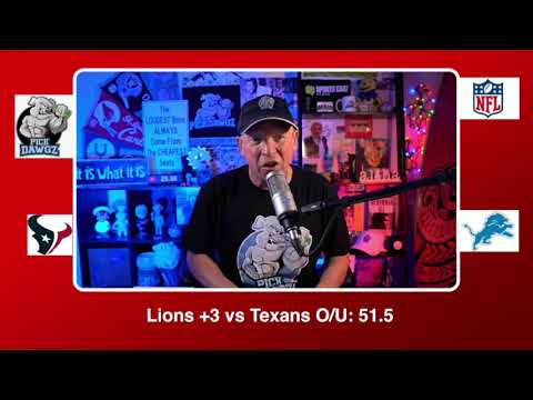 Detroit Lions vs Houston Texans 11/26/20 NFL Pick and Prediction Thursday Week 12 NFL