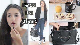 Rentrée 2015 ♡ Tenue/makeup/dans mon sac de cours