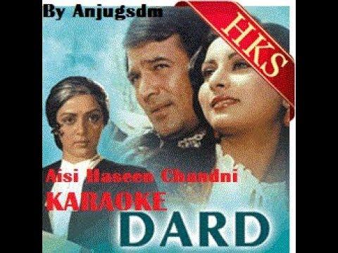 Aisi Haseen Chandani Karaoke Clean HD Quality