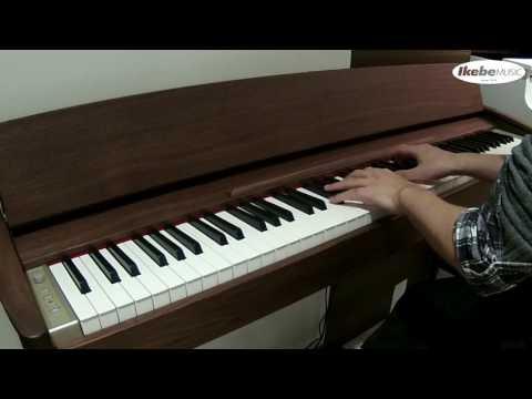 《民風樂府》日本製 Roland KF-10 Kiyola 胡桃木原木製 頂級電鋼琴 全台免費到府安裝 接受預訂中
