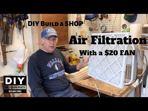 DIY Air Filtration Box Fan for $20