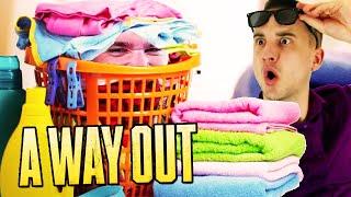 BRUDNE PRANIE TRZEBA WYPRAĆ! | A Way Out [#2] (With: Dobrodziej)