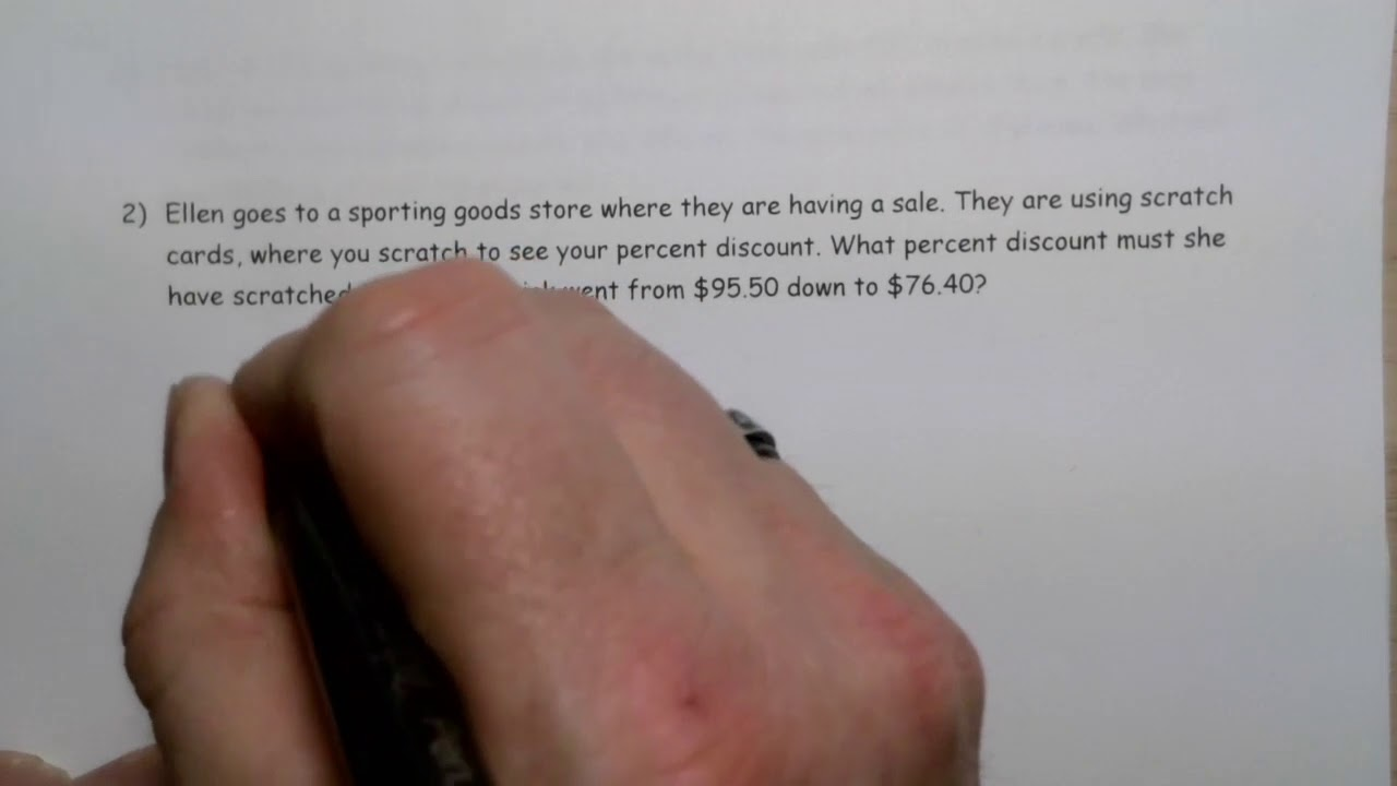 Math 10 3 Sales and Discounts   Lesson