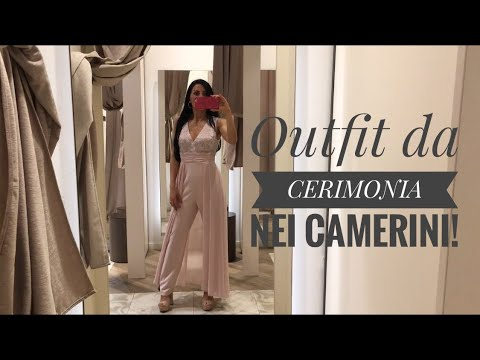 4 Outfit da CERIMONIA: try on nei CAMERINI!!!