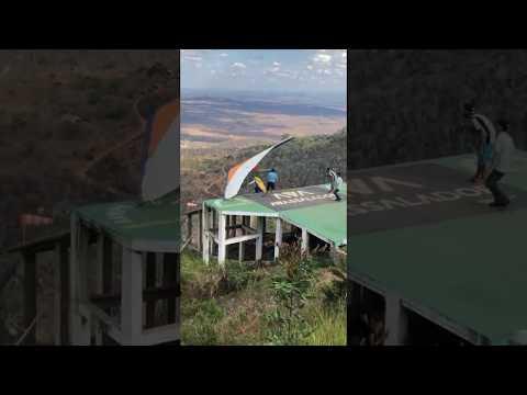 Homem cai durante voo de asa delta em Taquaritinga do Norte