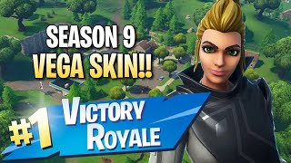 "Season 9 ""Vega"" Skin!! 11 Elims!! - Fortnite: Battle Royale Gameplay"
