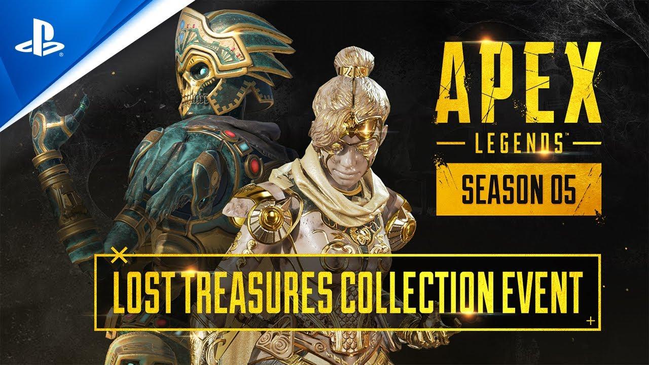 『エーペックスレジェンズ シーズン5 – 運命の行く末』失われた財宝コレクションイベント トレーラー