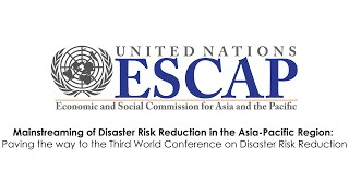 Mainstreaming of Disaster Risk Reduction in the Asia-Pacific Region