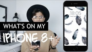 What's On My iPhone 8 Plus 2017