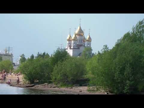 Загораем в Архангельске 08.06.2019 темп 30 гр