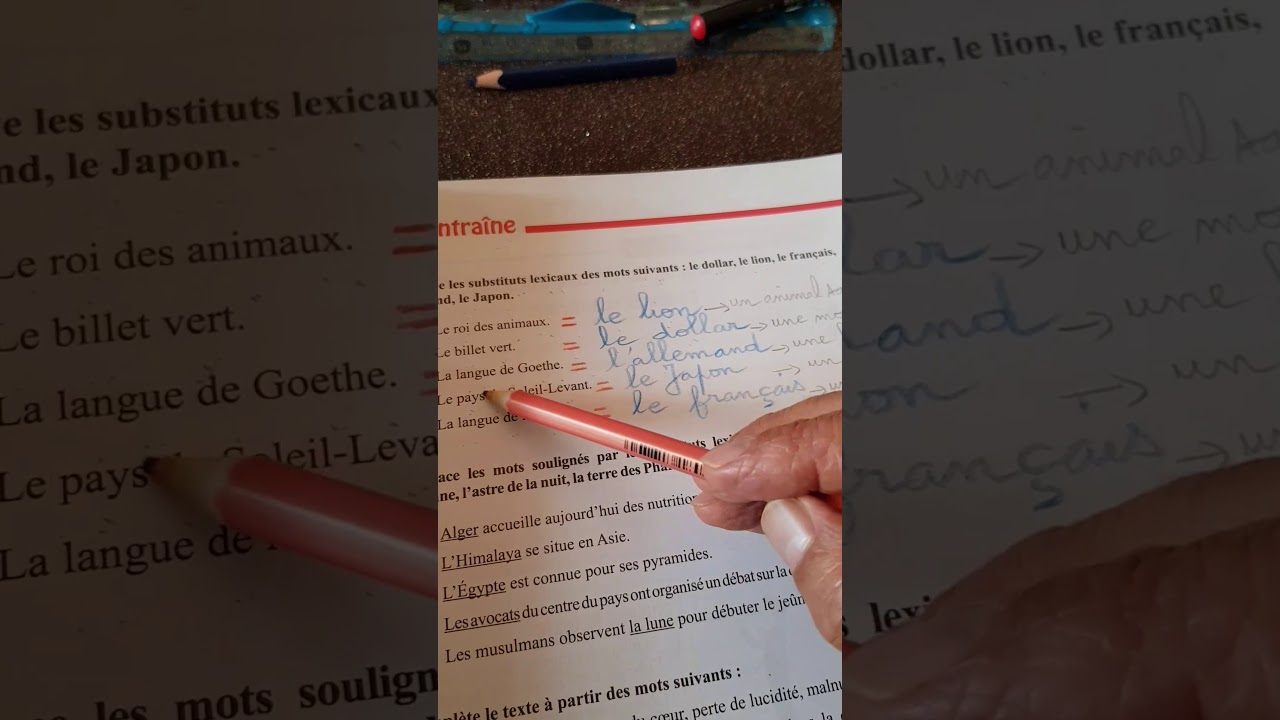1 Am Mon Livre De Langue Francaise Page 39