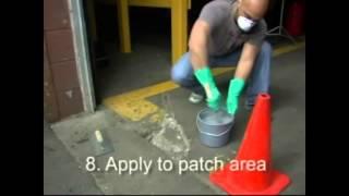2 - Oprava betónovej podlahy epoxidovým tmelom