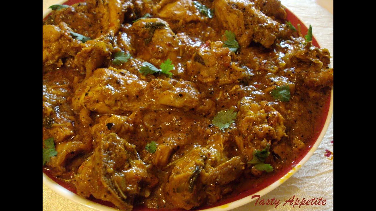 Spicy Pepper Mutton Curry - YouTube
