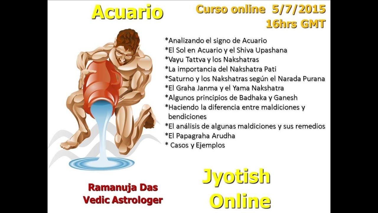 Curso signo de acuario 1 astrolog a v dica ramanuja das for Horoscopo para acuario