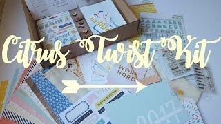 Monthly Subscription Box   Citrus Twist Kit Unboxing