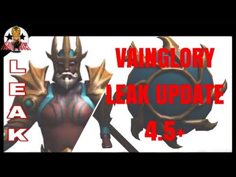 VAINGLORY LEAK UPDATE 4.5+ | FlameEater