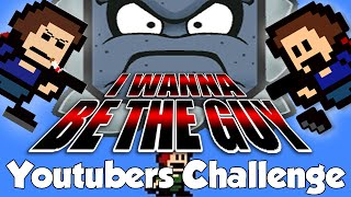 YOUTUBERS CHALLENGE! - I wanna be the guy: Gaiden