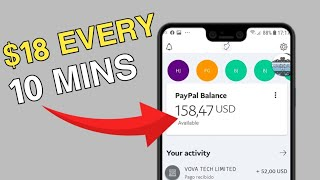 Earn $18 Every 10 Mins ( PAYOUT INSTANTLY! )