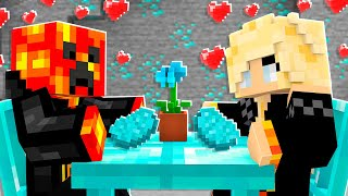 I Had a DIAMOND DATE with PrestonPlayz! - Minecraft