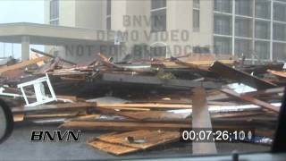 Hurricane Ike Video, Galveston, Texas - Part 5.