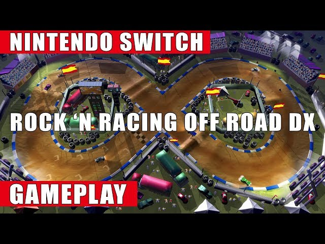Rock 'N Racing Off Road DX Nintendo Switch Gameplay
