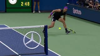 Rafael Nadal Goes AROUND the Net Against Marin Cilic | US Open 2019 Hot Shot