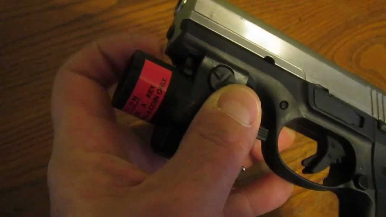 Streamlight Tlr 4 Mounted To Ruger Sr9 Youtube