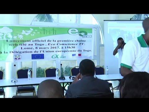 Togo, Création d'Éco Conscience TV / Une chaîne de TV responsable et engagée