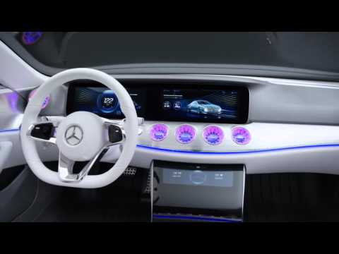 Mercedes-Benz Concept Car Powered by NVIDIA DRIVE at CES 2016