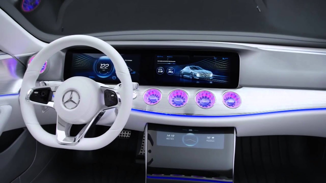 mercedes benz concept car powered by nvidia drive at ces 2016 youtube