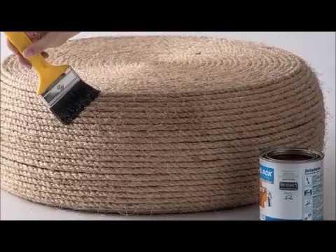 Come fare uno sgabello con uno pneumatico youtube