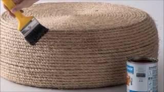 Come fare uno sgabello con uno pneumatico